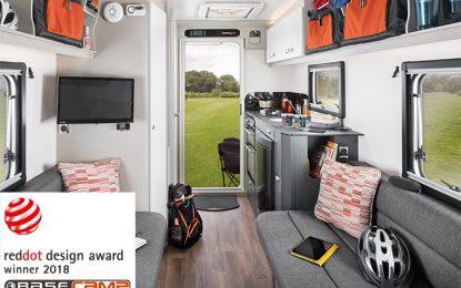 Swift Basecamp wins prestigious Red Dot Design Award