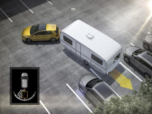 Trailer Assist – Manoeuvring a car with trailer simply, quickly and safely