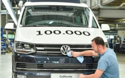 "100,000 VW California campers – ""Made in Hannover"""