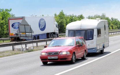 Travel safely with this towing advice from IAM RoadSmart and Caravan and Motorhome Club