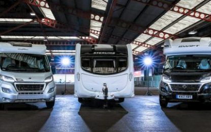 Demand rises for caravans and motorhomes