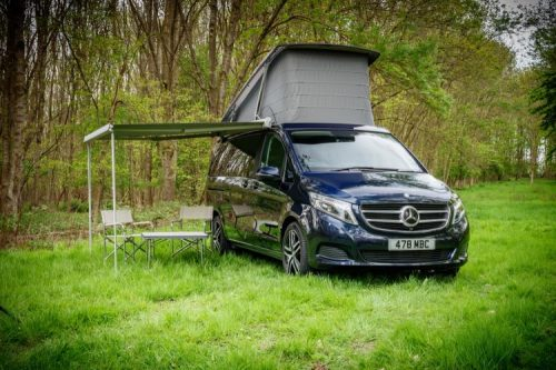Mercedes-Benz Vans set up camp at Motorhome & Caravan Show 2018