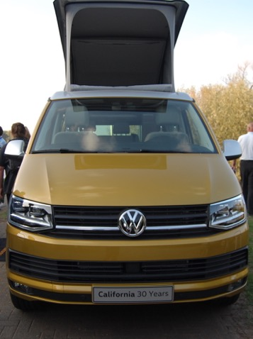 Limited edition Volkswagen California to mark 30 Years