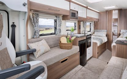 Bailey add two new layouts to its 'go anywhere – do anything' Advance motorhome range