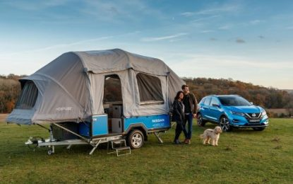 Nissan Energy & OPUS Campers collaborate on a smart camping concept