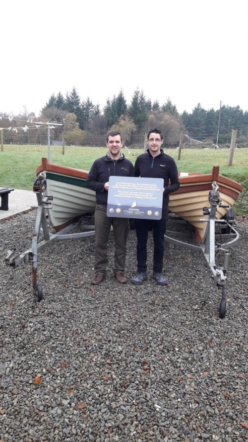 Clonbur Angling Centre launches new boats which will improve access to fishing on Loughs Corrib & Mask