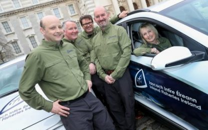 Inland Fisheries Ireland acquires an electric fleet of cars