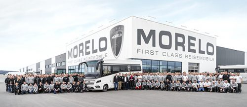 MORELO builds its 2,000th First Class Motorhome