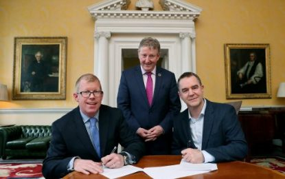 MOU between Inland Fisheries Ireland and Trinity College Dublin signed