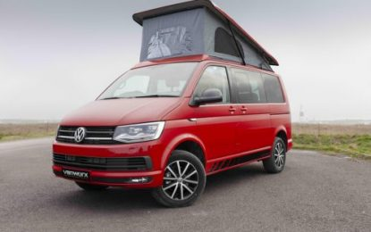 New Vanworx Volkswagen T6 Edition Slipper camper conversion ready for the road