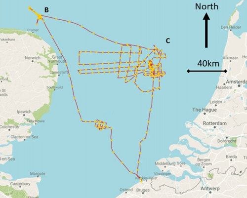 First evidence of lost prehistoric settlement in the North Sea found