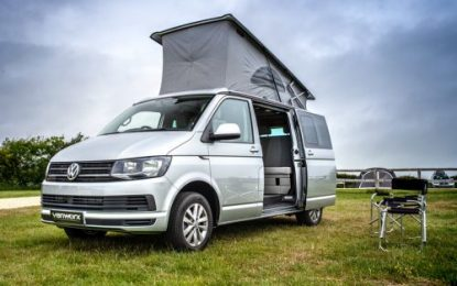 A chance to own a unique Vanworx California-roofed campervan