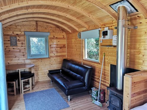 Glamping season just warming up in Wales' Afan Forest Park