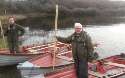 Shepperton Lake in West Cork goes green