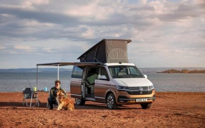 VW California 6.1 makes debut at Caravan, Camping & Motorhome Show 2020