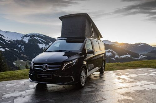 Mercedes-Benz at 2020 Caravan, Motor & Tourism exhibition