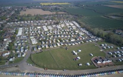 Life's a beach for new owner of Seaview Holiday Park in West Mersea, Essex