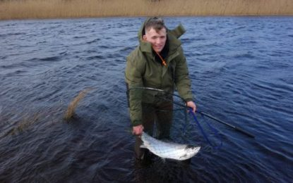First catch and release salmon of 2020 caught in Leitrim