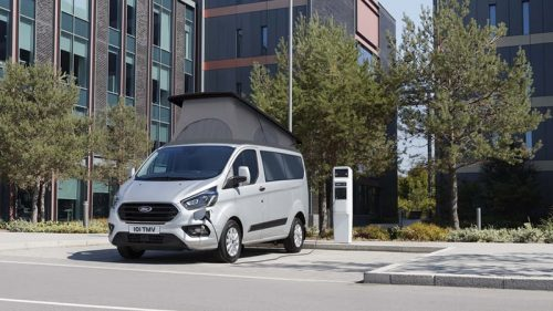 Ford Transit Custom PHEV (plug-in hybrid) campervan now available from Wellhouse Leisure