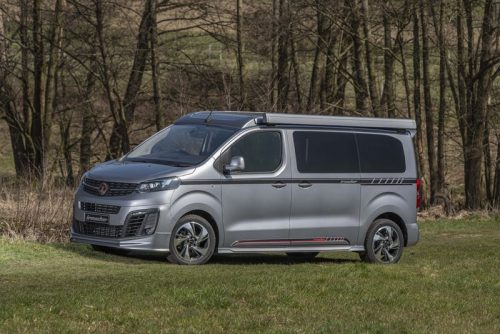 Introducing the new Wellhouse Vauxhall/Opel Vivaro Blighty campervan