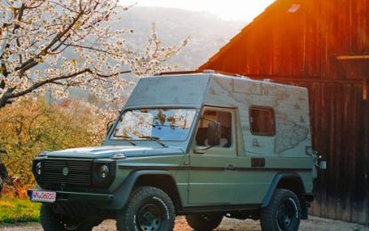 From military to globetrotter: Lorinser converts a 1993 Puch G into a stylish RV