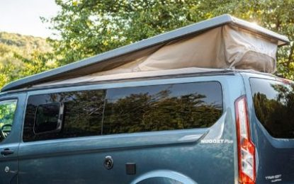 Ford raises the roof on Transit Custom campervan