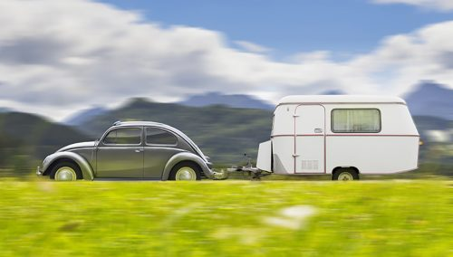 Avoid getting all tangled up with your caravan!