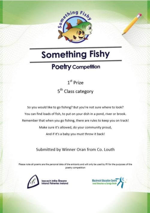 National 'Let's fish' 2020 Poetry competition – Winners announced