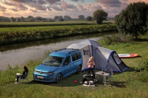 World premiere of the new Volkswagen Caddy California