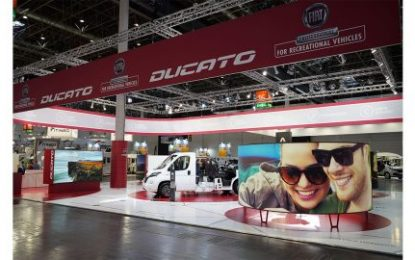Fiat Professional stars in the Düsseldorf & Parma Recreational Vehicle Shows