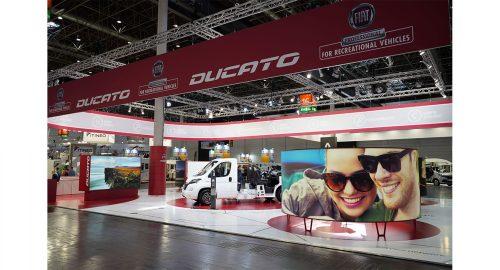 Fiat Professional stars in the Düsseldorf & Parma Recreational Vehicle Shows