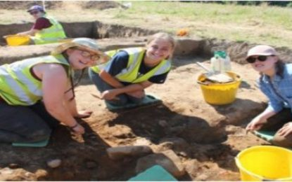 """Queen's & Lough Neagh Landscape Partnership launch """"Community Archaeology Toolkit"""""""