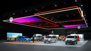 Welcome to Volkswagen Commercial Vehicles' trade show stand online!
