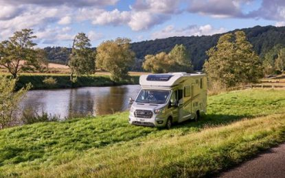 New from Bailey – the Adamo Campervan on the Ford Transit – High on Adventure