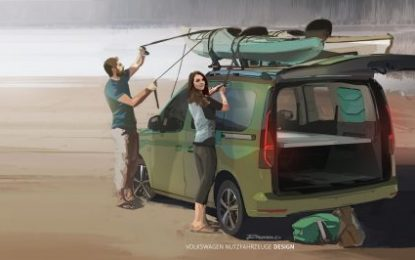 The Volkswagen Caddy California