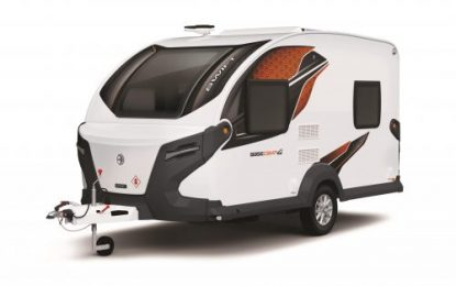 A chance to win a funky Swift Basecamp 4 Special Edition Camping Cross-over Vehicle (CCV)