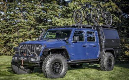 Jeep & Mopar U.S. team creates new Gladiator-based concept car for SEMA