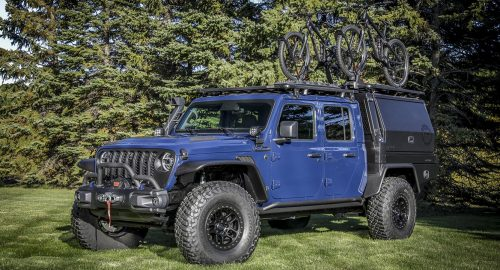 Jeep & Mopar U.S. team creates new Gladiator-based concept car for SEMA