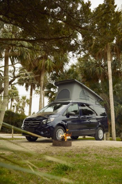 Mercedes-Benz hits States-side with Vito/Metris camper