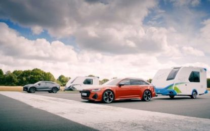 Top Gear races to 120mph with the KNAUS Sport&Fun