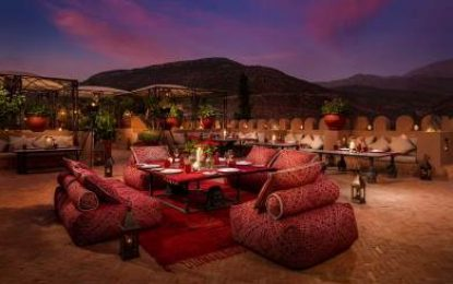 Toast in the New Year at award-winning Kasbah Tamadot