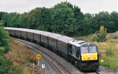 Luxury 'Belmond Grand Hibernian' touring train bows out of Ireland