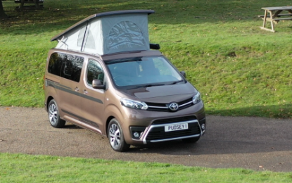 Wellhouse Leisure's Toyota Proace Matino campervan helped raise   £1,134,580 for the BBC Children in Need's 2020 Appeal