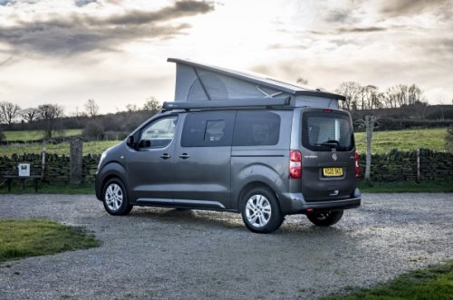 British-built and converted Vauxhall Vivaro Elite Campervan by Wellhouse Leisure