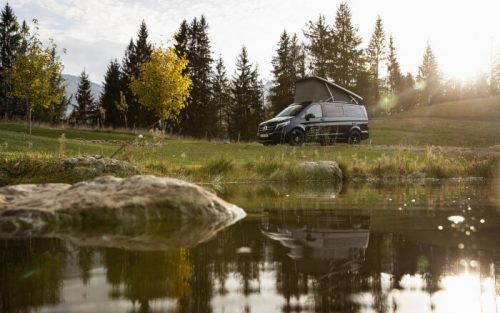 Mercedes-Benz Vans: First glimpse into the Motorhome Year 2021