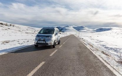 Nissan sparks frosty adventures with the all-electric e-NV200 Winter Camper