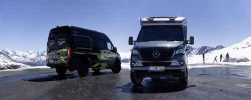 Spirit of adventure; 4WD; Self-sufficiency as standard – The Hymer 'CrossOver edition models