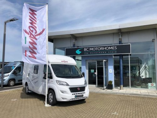 Wingamm motorhomes confirms new UK importer: Sponsors the Scottish Caravan, Motorhome & Holiday Home Virtual Show