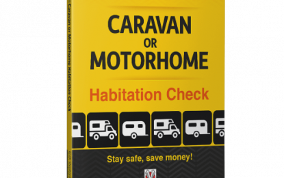 Do Your Own Caravan or Motorhome Habitation Check. Stay safe, save money!