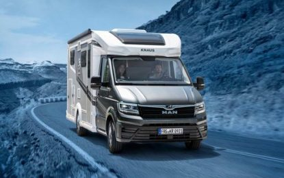 """Plus"" of freedom: The KNAUS VAN TI PLUS now available as the fully equipped PLATINUM SELECTION"